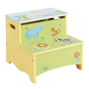 Savanna Smile Storage Step-Up