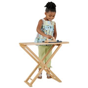 Ironing Board and Play Iron Set