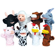 Farm Puppets (Set of 8)