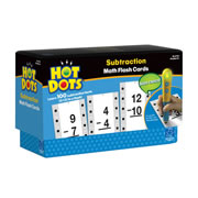 Subtraction Hot Dots® Flash Cards