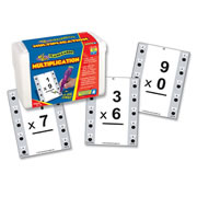 Hot Dots® Multiplication Flash Cards