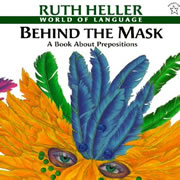 Behind the Mask: A Book about Prepositions - Paperback