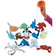 Ocean Finger Puppets (Set of 14)