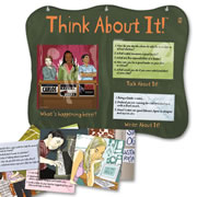 Think About It Writing Activity Center
