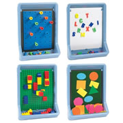 Activity Boards 4 Pack (Wedgewood Blue)