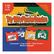 Itty Bitty Phonics Readers Read-Along CDs
