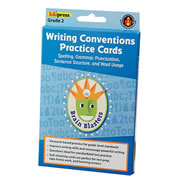 Brain Blasters Writing Conventions Practice Cards