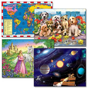 200 Piece Jigsaw Puzzles - Set of 4