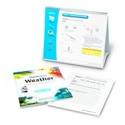 Flip4Science® Teacher's Guide and Center Book - Weather