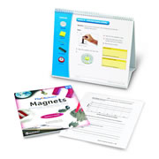 Flip4Science® Teacher's Guide and Center Book - Magnets