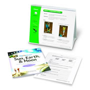 Flip4Science® Teacher's Guide and Center Book - Sun, Earth, & Moon