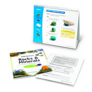 Flip4Science® Teacher's Guide and Center Book - Rocks & Minerals