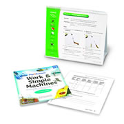 Flip4Science® Teacher's Guide and Center Book - Work & Simple Machines