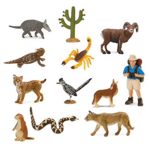 Fun Toys For 11 Year Olds : Toobs desert animal minis by safari limited