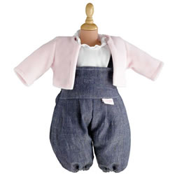 "Doll Outfit 12"" Denim Set"