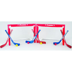 NHL™ Folding Insta-Set® Goal, Stick, and Ball Set