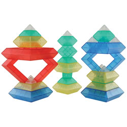 Wedgits™ Translucent Deluxe Set - 30 pieces