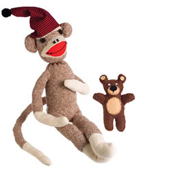 Peejay™ Sock Monkey Kit