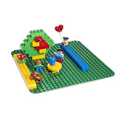 LEGO® DUPLO® Large Green Building Plate (2304)
