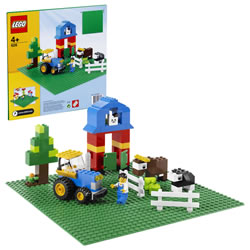 LEGO® Bricks & More Green Building Plate (0626)