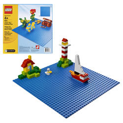 LEGO® Bricks & More Blue Building Plate (0620)