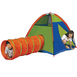 """Hide-Me"" Tent and Tunnel Combo"