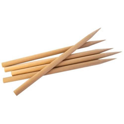 Heavy Duty Wood Stylus 25 Pack
