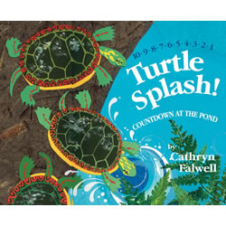 Turtle Splash!: Countdown at the Pond - Hardback