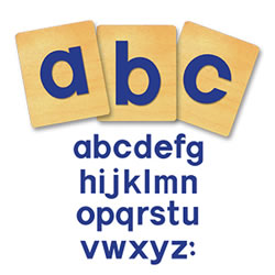 Block Lowercase Letters 3 inch