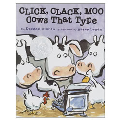 Click Clack Moo Cows That Type - Hardback