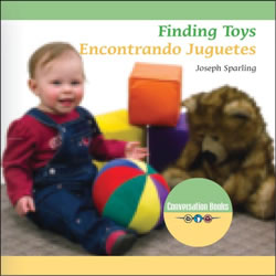 Finding Toys - Bilingual Board Book