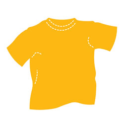 Large Tee Shirt Die Cut