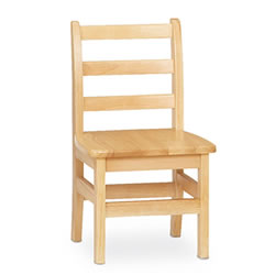Ladderback Chair 12 Inch - Set of 2
