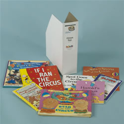 Links to Literacy Circus Fun Book Set (Set of 8)