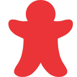 Gingerbread Man Large Die