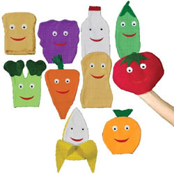 Nutrition Puppet Set