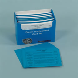 Links to Literacy Parent Involvement Card Set (Set of 431 Cards)