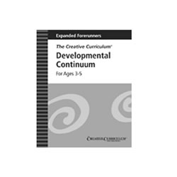 Expanded Forerunners of the Developmental Continuum For Ages 3-5 (Set of 5)