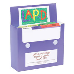 LAP-D™ Activity Cards