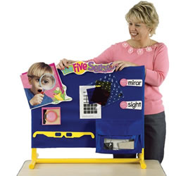 Stick-It-On Teaching Center - Wide Tabletop Model