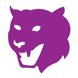 Large Wildcat Mascot Die Cut