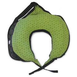 Boppy® Travel Pillow - Mama Dot/ Basket Green