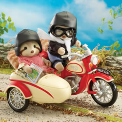 Calico Critters™ Motorcycle and Side Car