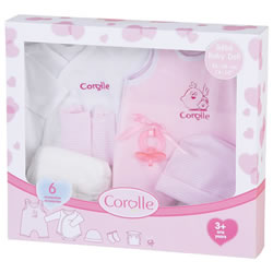 Pink Layette Set