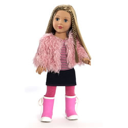 "Favorite Friends 18"" Pink Glamour Doll"