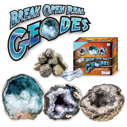 Basic Break Open Real Geodes