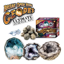 Ultimate Break Open Your Own Geodes Kit