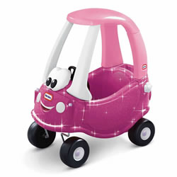 Princess Cozy Coupe® with Glitter