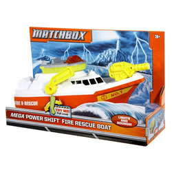 Matchbox Mega Power Shift Rescue Boat