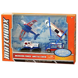 Matchbox Mission Force Arctic Crew